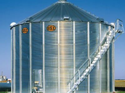 Silo d'entreposage de grains GSI